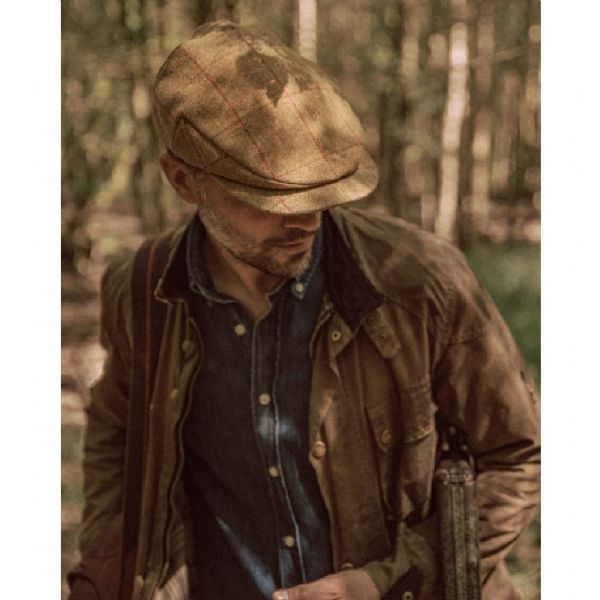Laird Water Resistant Scottish Tweed Shooting Cap